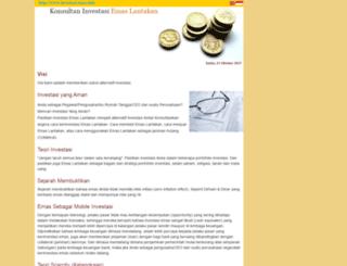 investasi-emas.com screenshot