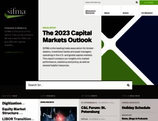 investcenter.sifma.org screenshot