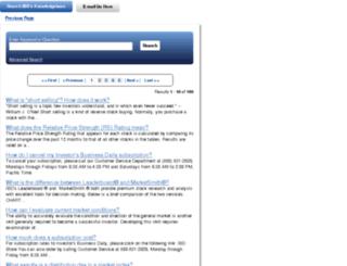 investdaily.custhelp.com screenshot