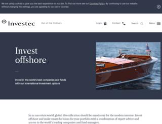 investecwealthforum.co.za screenshot