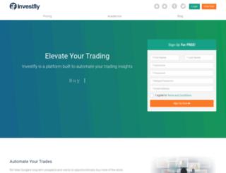 investfly.com screenshot