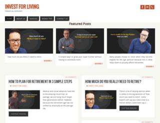 investforliving.com.au screenshot