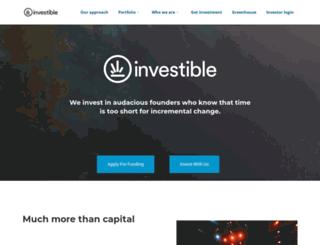 investible.com screenshot