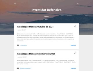 investidordefensivo.blogspot.com screenshot