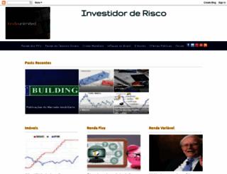 investidorderisco.blogspot.com.br screenshot