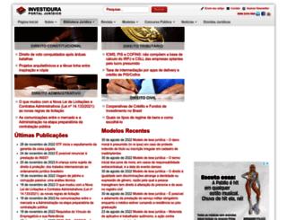investidura.com.br screenshot