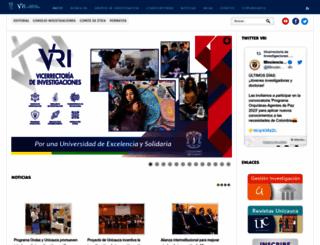 investigacion.unicauca.edu.co screenshot
