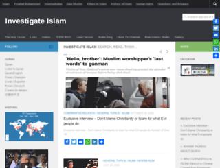 investigate-islam.com screenshot