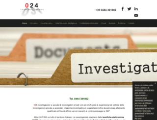 investigatoreprivatovicenza.net screenshot