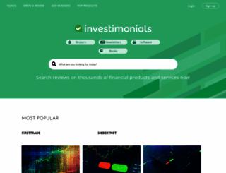 investimonials.com screenshot