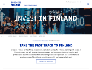 investinfinland.fi screenshot