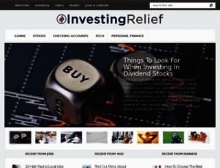 investingrelief.com screenshot