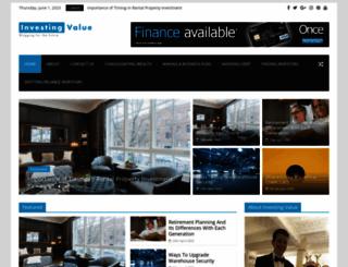investingvalue.com screenshot