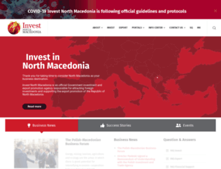 investinmacedonia.com screenshot