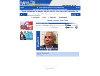 investir.metropolehaiti.com screenshot