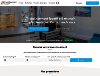 investissement-locatif.com screenshot