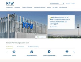 investitionspaket.kfw.de screenshot