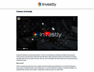 investly.workable.com screenshot