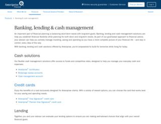 investment.ameriprise.com screenshot