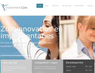 investmentcare.nl screenshot