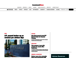 investmentnews.com screenshot