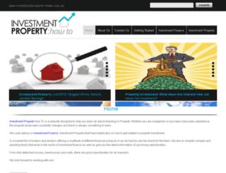 investmentproperty-howto.com.au screenshot