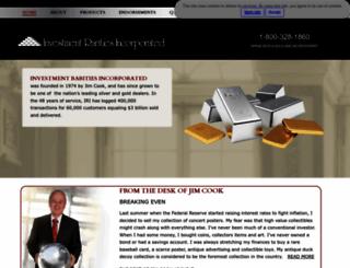 investmentrarities.com screenshot