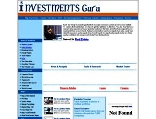 investmentsguru.com screenshot