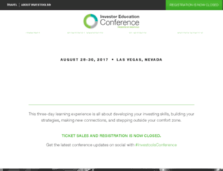 investoolsconferences.com screenshot