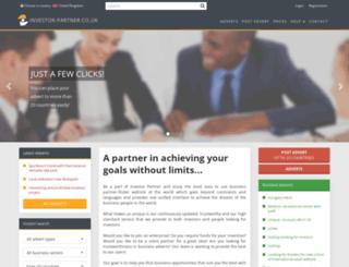 investor-partner.co.uk screenshot