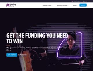 investor-portal.fundingcircle.us screenshot