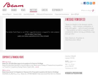 investor.beamglobal.com screenshot