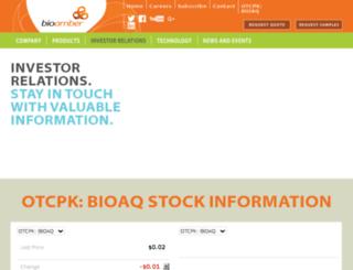 investor.bio-amber.com screenshot