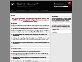 investordealsnow.com screenshot