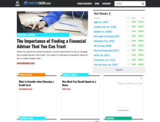 investorguide.com screenshot