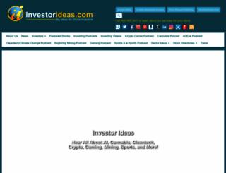 investorideas.com screenshot