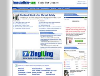 investorlinks.com screenshot