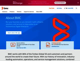 investors.bmc.com screenshot