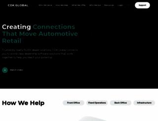 investors.cdkglobal.com screenshot