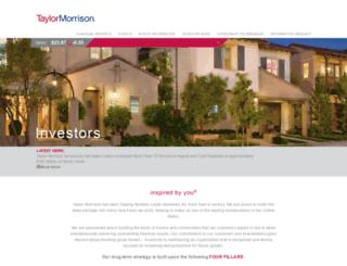 investors.lyonhomes.com screenshot
