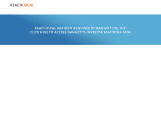 investors.reachlocal.com screenshot