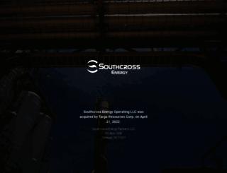 investors.southcrossenergy.com screenshot
