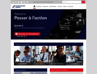investquebec.com screenshot