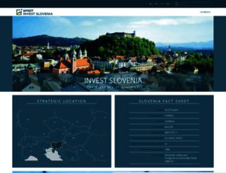investslovenia.org screenshot