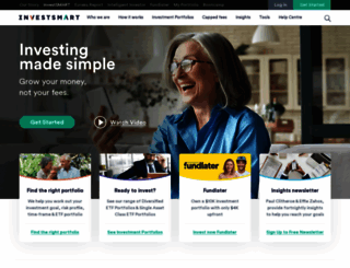 investsmart.com.au screenshot