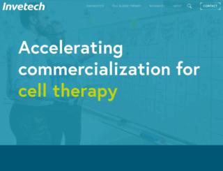invetech.com.au screenshot