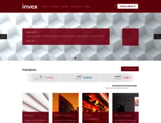 invex.com screenshot