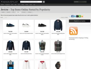 invicta.fashionstylist.com screenshot