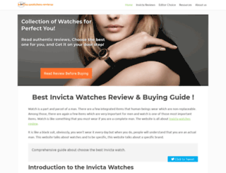 invictareview.com screenshot