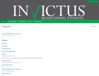 invictus.frontdeskhq.com screenshot